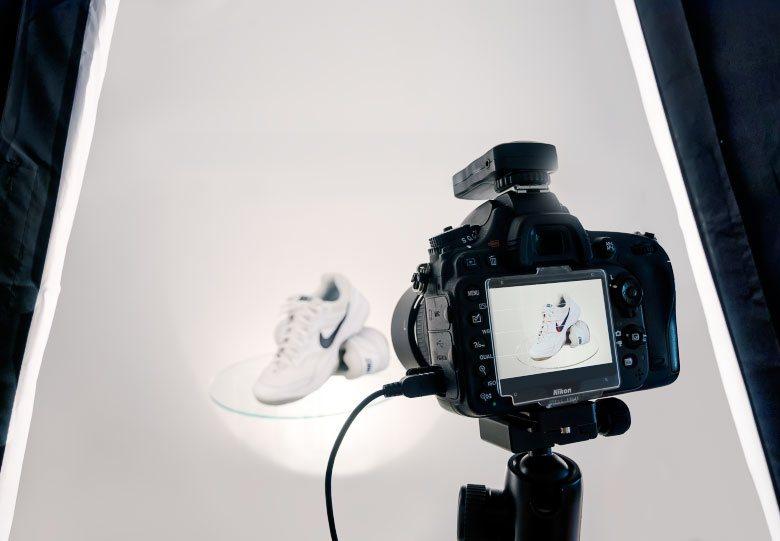 Tvorba 360° produktových fotografií
